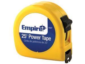Empire Level 272-6527POP 1 Inchx25' Tape Measure 3 Language Packaging