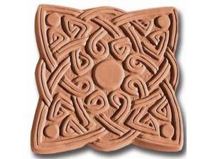 Garden Molds X-CSQ8007 Celtic Square Stepping Stone Mold- Pack of 2