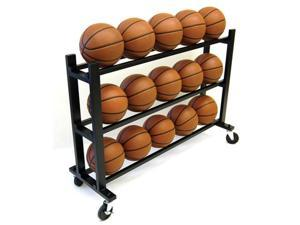 Trigon Sports CART315 ProCage 15-Ball HD Ball Cart 3-Tier