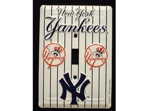 New York Yankees Light Switch Covers (single) Plates LS10015