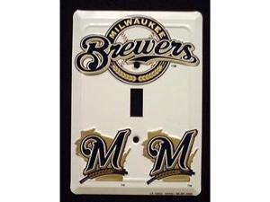 Milwaukee Brewers Light Switch Covers (single) Plates LS10032