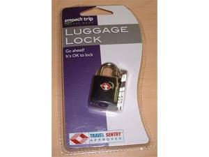 Talus SmoothTrip ST-LK8002-BBLK TSA Approved Key Lock - Black