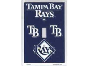 Tampa Bay Devil Rays Light Switch Covers (single) Plates LS10043