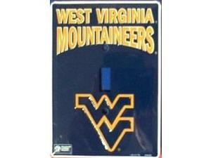 West Virginia Mountaineers Light Switch Covers (single) Plates LS10178