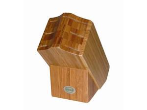 Sanelli CNF060 Bamboo Knife Block for 6 Pcs.