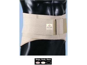 "ITA-MED Elastic Duo-Adjustable Back Support Belt (9"" Wide) - Large"