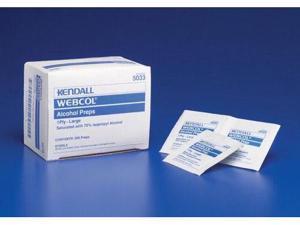Complete Medical KE6818 Webcol Alcohol Prep pads - Medium