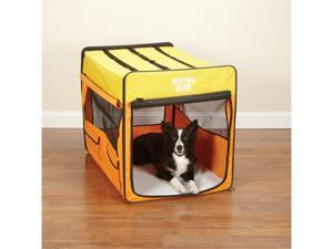 Pet Pals ZA420 38 Guardian Gear Collapsible Crate Lrg Org-Yellow S