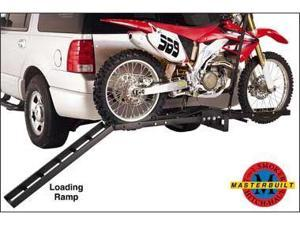 Masterbuilt HMXCR HITCH-HAUL Motorcycle Carrier with 40 Inch Ramp