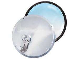 RoadPro RP-20SOS 7.5 Stainless Steel Adjustable Convex Mirrors - Offset Stud