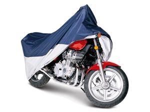 Classic Accessories 65-006-043501-00 Touring Motorcycle Cover - Blue And Silver