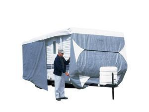 Classic Accessories 73163 PolyPro III Deluxe Travel Trailer Cover - Grey - Model 1