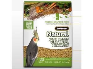 Zupreem 680002 Zupreem Natural Medium 2.5 Pound