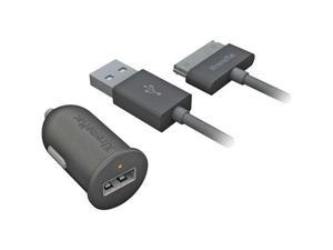 Xtrememac Incharge Auto Usb Charger With Ipad -Ipod -Iphone Cable