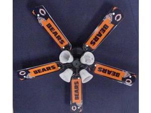 Ceiling Fan Designers 52FAN-NFL-CHI NFL Chicago Bears Football Ceiling Fan 52 In.