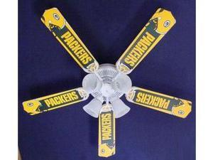 Ceiling Fan Designers 52FAN-NFL-GRB NFL Green Bay Packers Football Ceiling Fan 52 In.