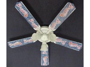 Ceiling Fan Designers 52FAN-MLB-ATL MLB Atlanta Braves Baseball Ceiling Fan 52 In.