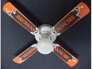 Ceiling Fan Designers 42FAN-NFL-CLE NFL Cleveland Browns Ceiling Fan 42 In.