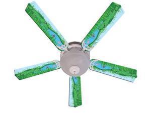 Ceiling Fan Designers 52FAN-IMA-AGT Kids Alligator Gator Tale Ceiling Fan 52 In.