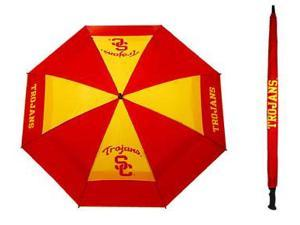 Team Golf 27269 USC Trojans 62 in. Double Canopy Umbrella