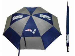 Team Golf 31769 New England Patriots 62 in. Double Canopy Umbrella