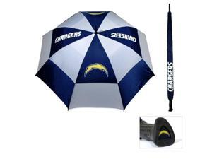 Team Golf 32669 San Diego Chargers 62 in. Double Canopy Umbrella