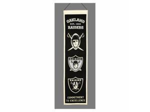 Winning Streak 139462 Oakland Raiders Wool Heritage Banner