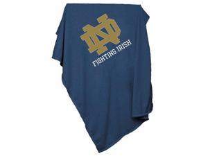 Logo Chair 190-74 Notre Dame Sweatshirt Blanket