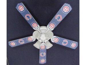 Ceiling Fan Designers 52FAN-MLB-CHC MLB Chicago Cubs Baseball Ceiling Fan 52 In.
