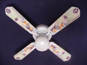 Ceiling Fan Designers 42FAN-MLB-NYM MLB York Mets Baseball Ceiling Fan 42 In.
