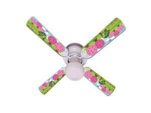 Ceiling Fan Designers 42FAN-IMA-HTT Kids Happy Traveler Turtle Ceiling Fan 42 In.