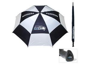 Team Golf 32869 Seattle Seahawks 62 in. Double Canopy Umbrella