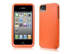 Contour Design 01839-0 HardSkin Hard Case for iPhone 4 - Orange