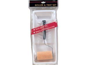Gam Paint Brushes 2 Piece 3in. Roller & Tray Set  PT03323
