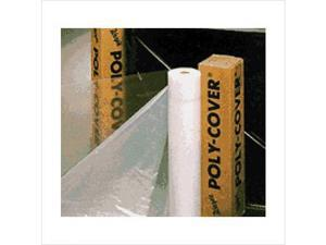 Warp Brothers 795-4X20-C 4Mil 20X100 Clear Poly Cover