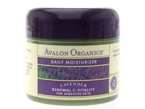 Facial Moisturizer - Lavender - Avalon Organics - 2 oz - Cream