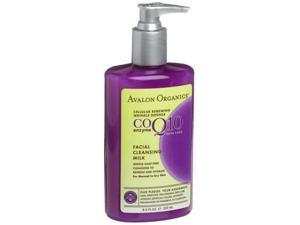Wrinkle Therapy with CoQ10 & Rosehip Cleansing Milk - Avalon Organics - 8.5 oz - Cream