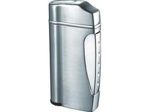 Visol VLR202301 Nolet Satin Silver Torch Flame Lighter