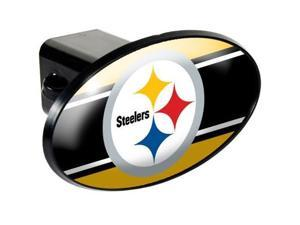 Great American Products 72013 Trailer Hitch Cover- Pittsburgh Steelers