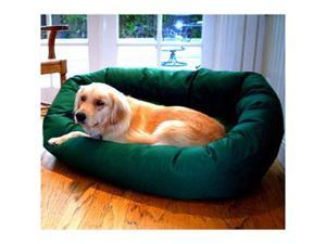 Majestic Pet 788995611530 52 in. Extra Large Bagel Bed- Green