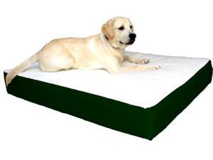 Majestic Pet 788995614838 34x48 Large-Extra Large Orthopedic Double Pet Bed- Green