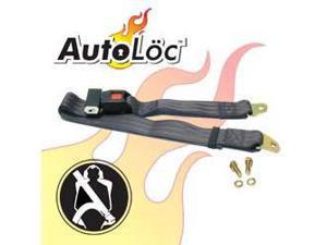 Autoloc SB2PBK 2 Point Black Lap Seat Belt (1 Belt)