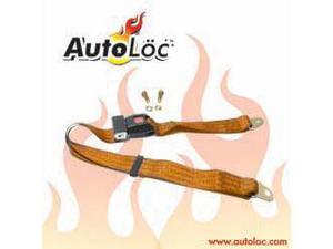 Autoloc SB2PCP 2 Point Copper Lap Seat Belt (1 Belt)