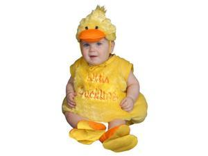Dress Up America 364-6-12 Baby Plush Duckling Costume - Size 6-12 Months