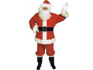 Halco 34291 Santa Complete Costume - Adult Size Standard