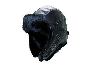 Woolrich W1610-Blk3 1/Woolrich Lthr Fur Pilot-L Hat