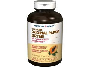 Original Papaya Enzyme - American Health Products - 600 - Chewable