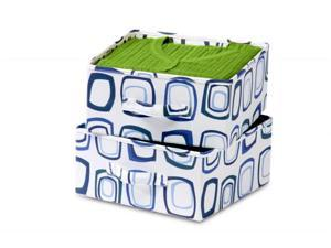 Honey-Can-Do SFT-01562 Accessory Drawer For Sweater Organizer - Blue And White
