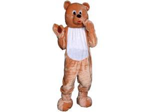 Dress Up America 153645 Teddy Bear Economy Mascot Adult Costume Size: One-Size