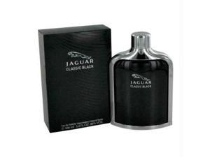 Jaguar Classic Black by Jaguar Eau De Toilette Spray 3.4 oz